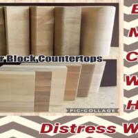 Butcher Block Countertop,Birch, Maple, Cherry, Walnut, Hickory, Distress Walnut Kitchen Installation Custom Countertops Mikes Countertop Shop Sudbury Ontario